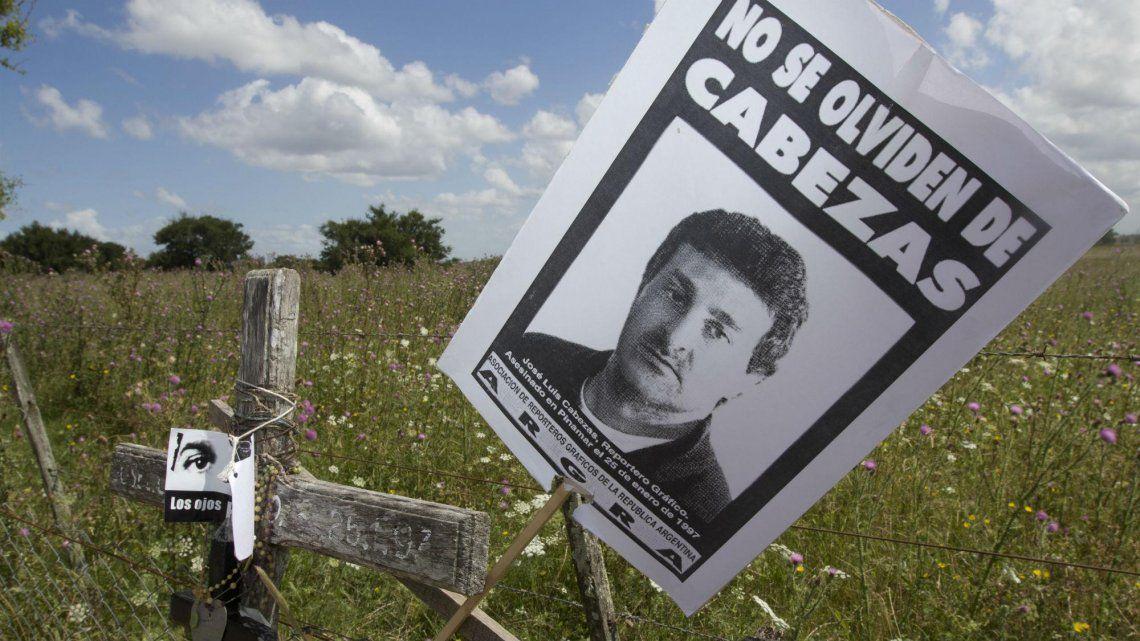 Se cumplen 24 años del asesinato de José Luis Cabezas.