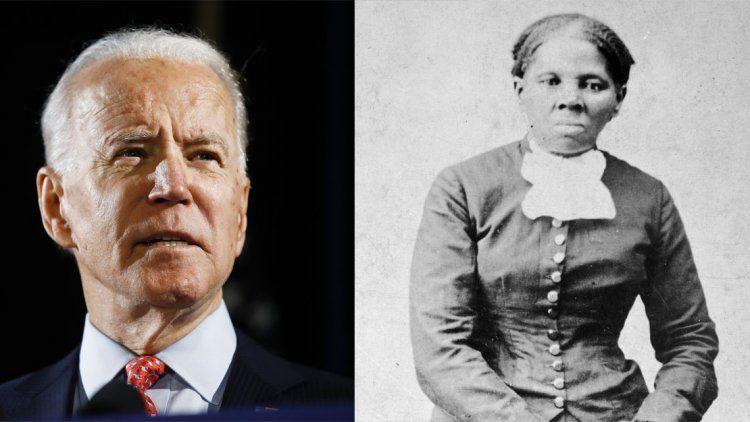 Joe Biden busca que una esclava afroamericana este en un billete.