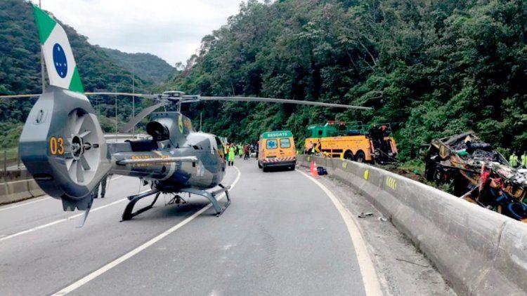 Brasil: trágico accidente.