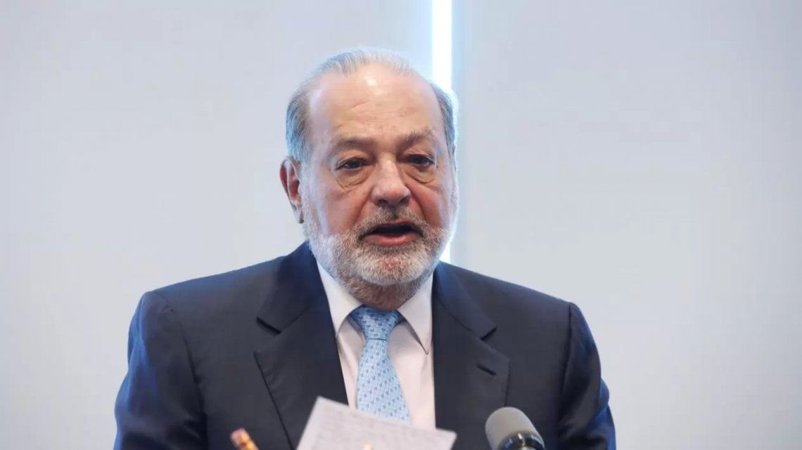 Carlos Slim padece coroavirus
