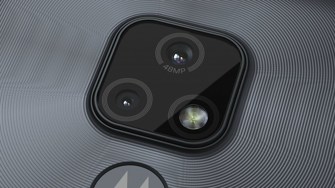 El nuevo moto e7 de Motorola se destaca gracias a un sistema de doble cámara.