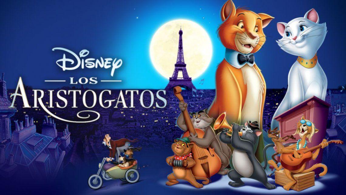 Los Aristogatos es uno de los filmes animados que Disney retiró de su lista de infantiles por racista