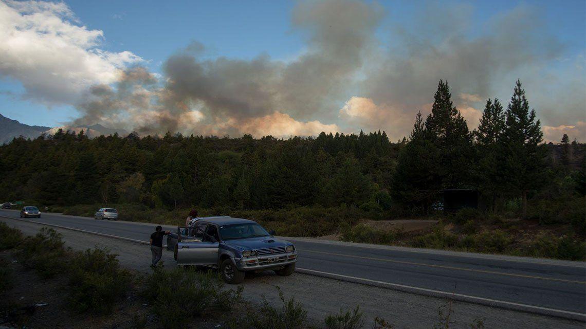 El Bolsón: El daño de los incendios es muy grave.