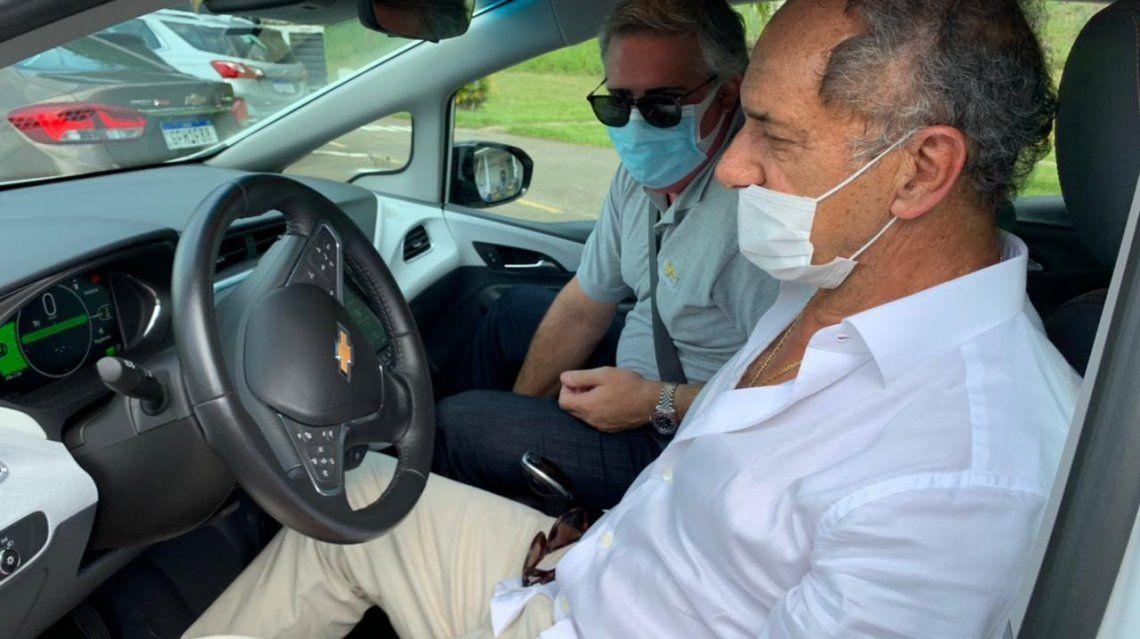 Brasil: Scioli propone mayor integración de autopartes argentinas