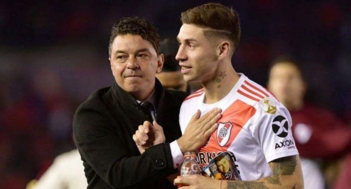 Gallardo considera a Montiel una pieza clave del equipo.