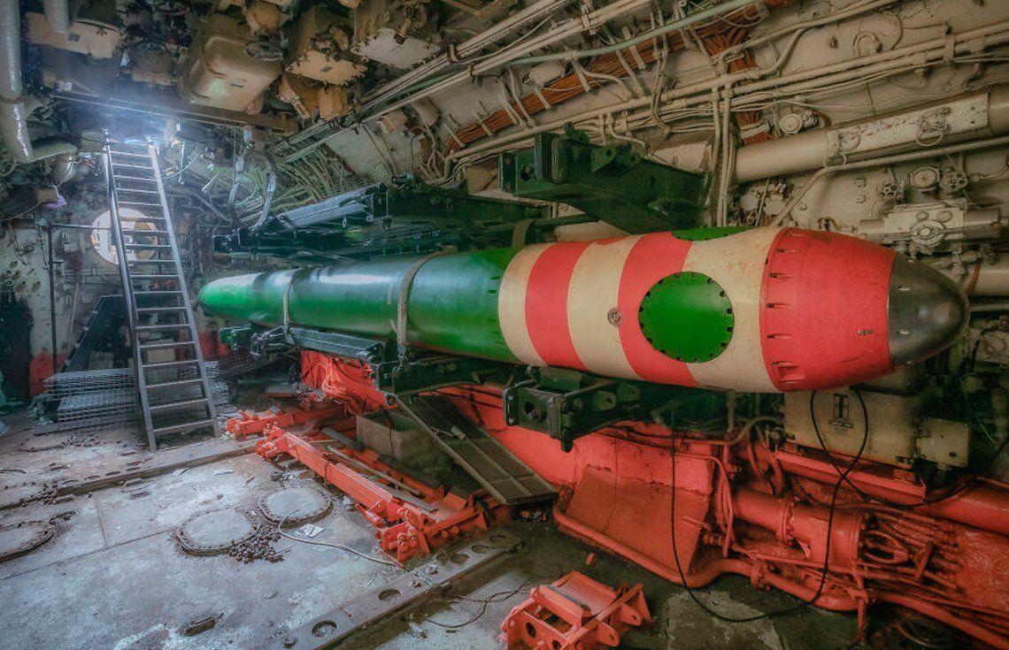 Ex URRS (actual Rusia): Fotografían interior de submarino abandonado en el fondo del mar