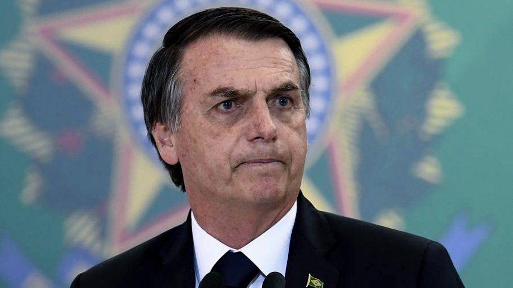 Bolsonaro insultó a la prensa.