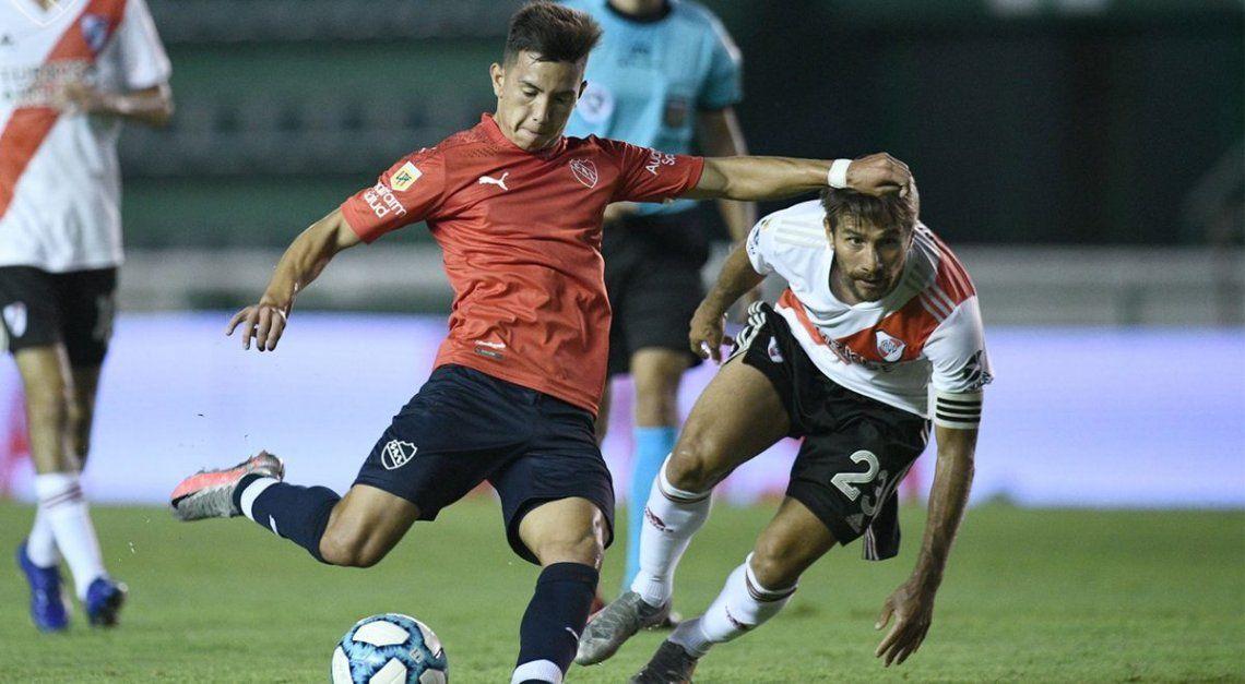 Falcioni empezó idear su equipo en Independiente
