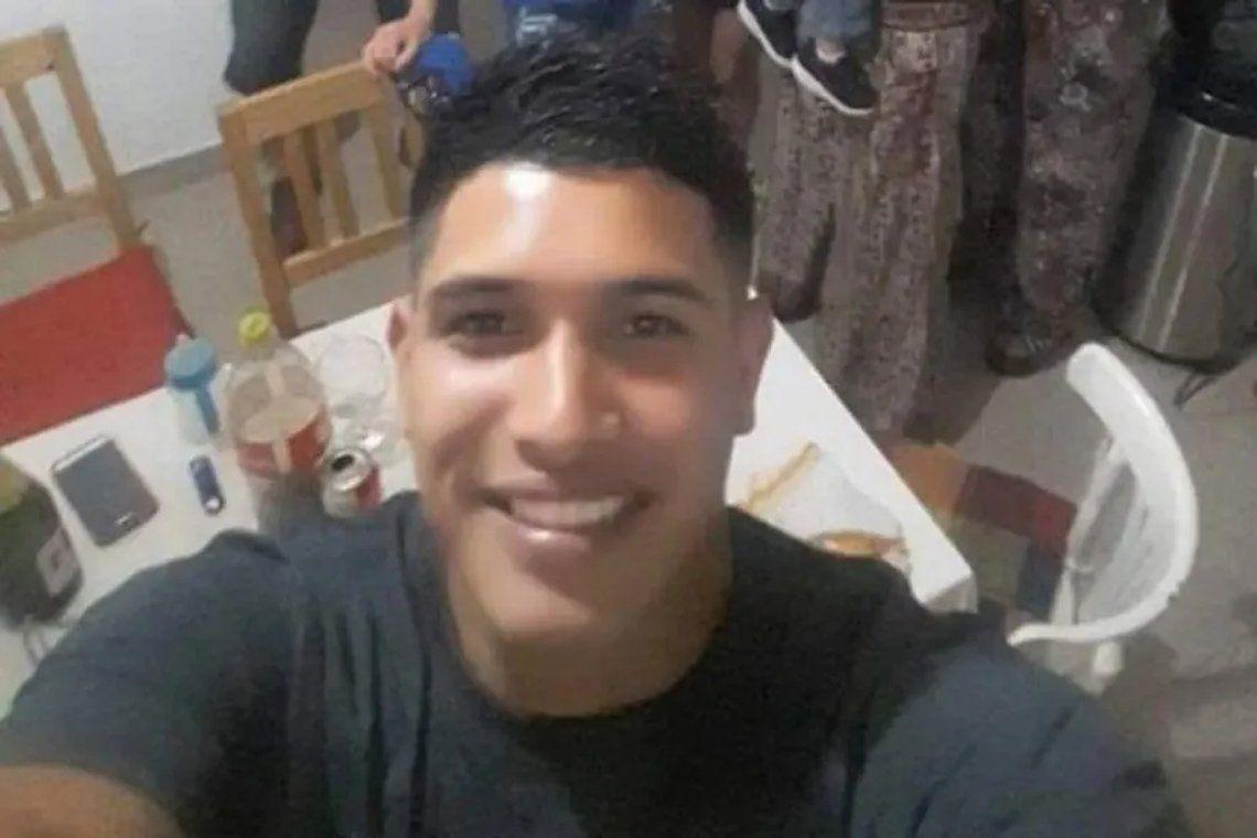 Pablo Nogués: joven asesinado.