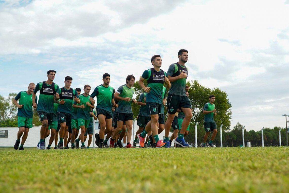 Sarmiento de Junín se pone a punto para jugar en Primera.