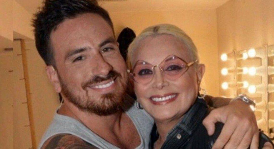 Carmen Barbieri junto a su hijo federico Bal