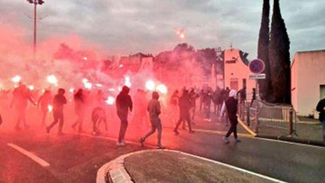 Serios incidentes en Francia