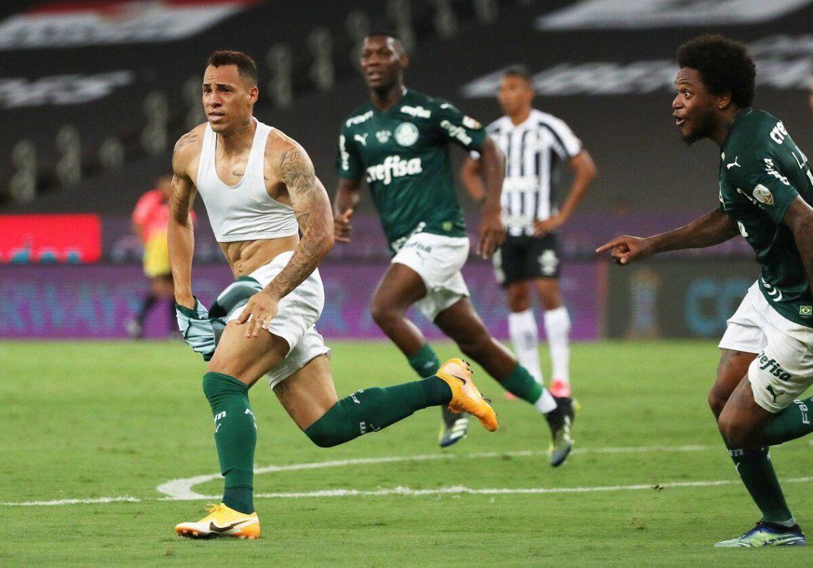 Breno Lopes marcó el único gol de la final que le dio el título a Palmeiras.