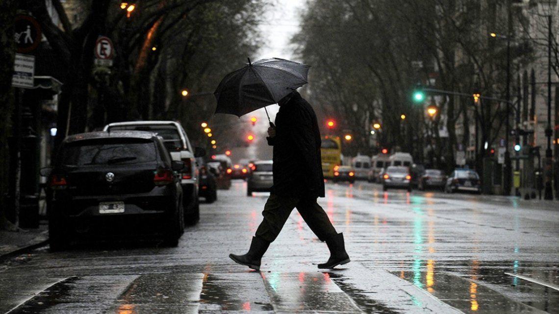 El pronóstico anticipa lluvias para toda la semana.