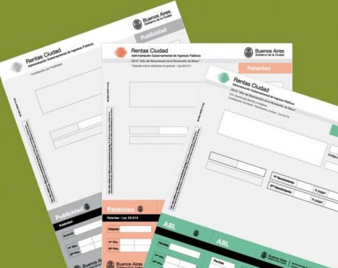 Impuestos: moratoria de la Ciudad de Buenos Aires para patentes y ABL.