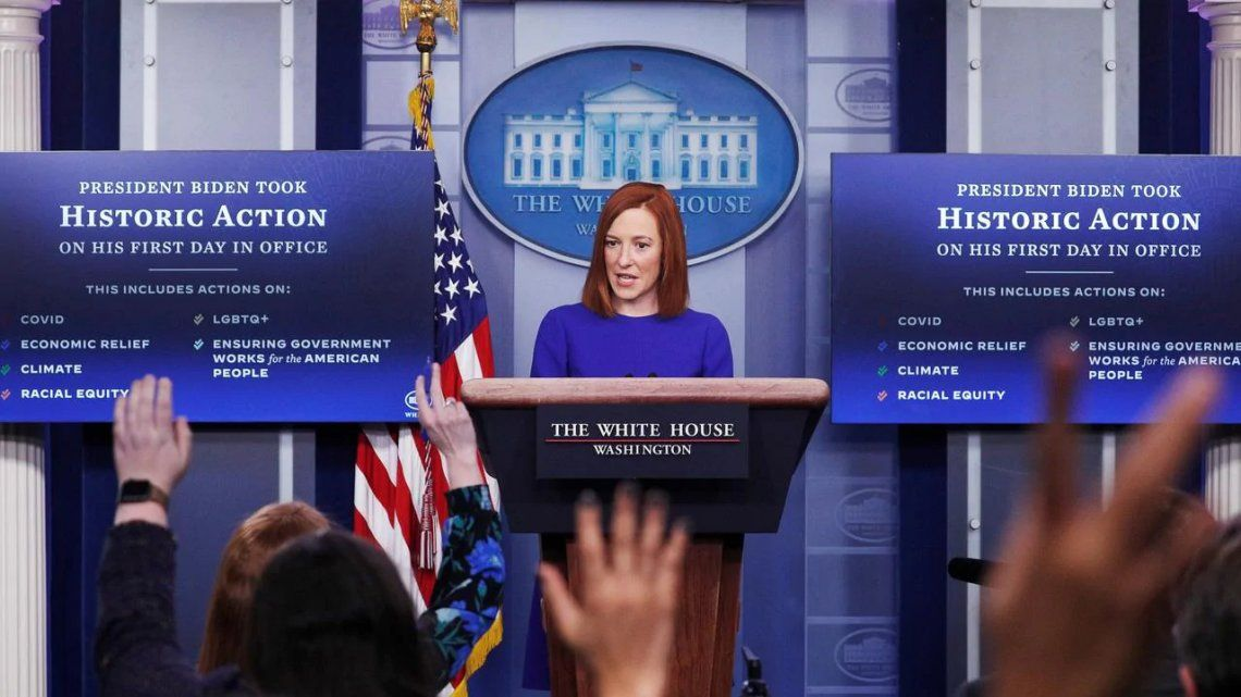 La portavoz de la Casa Blanca