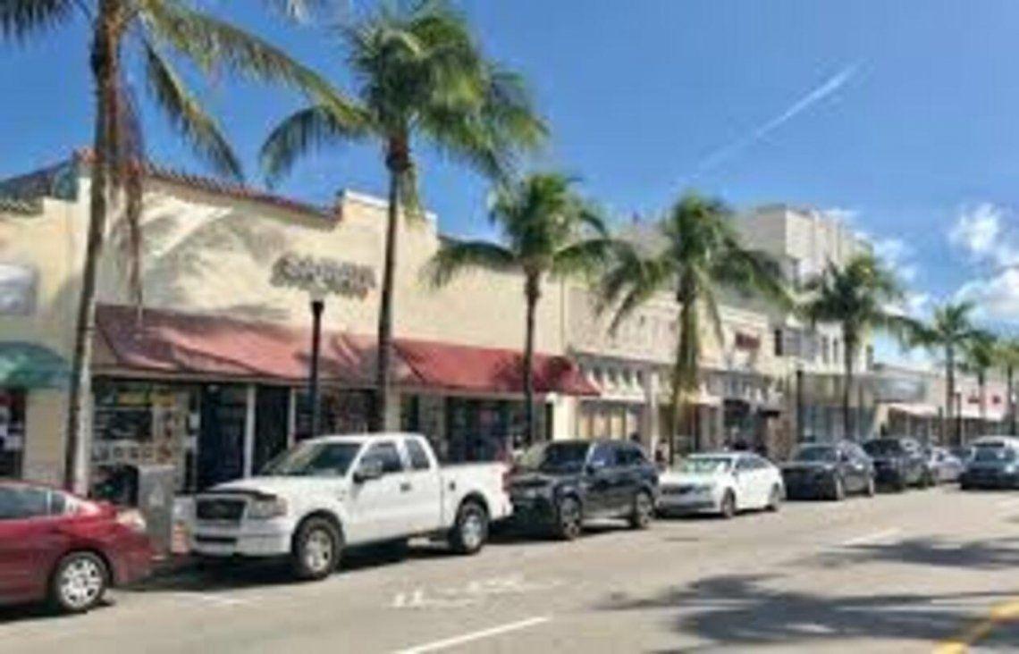 La avenida Washington de Miami Beach
