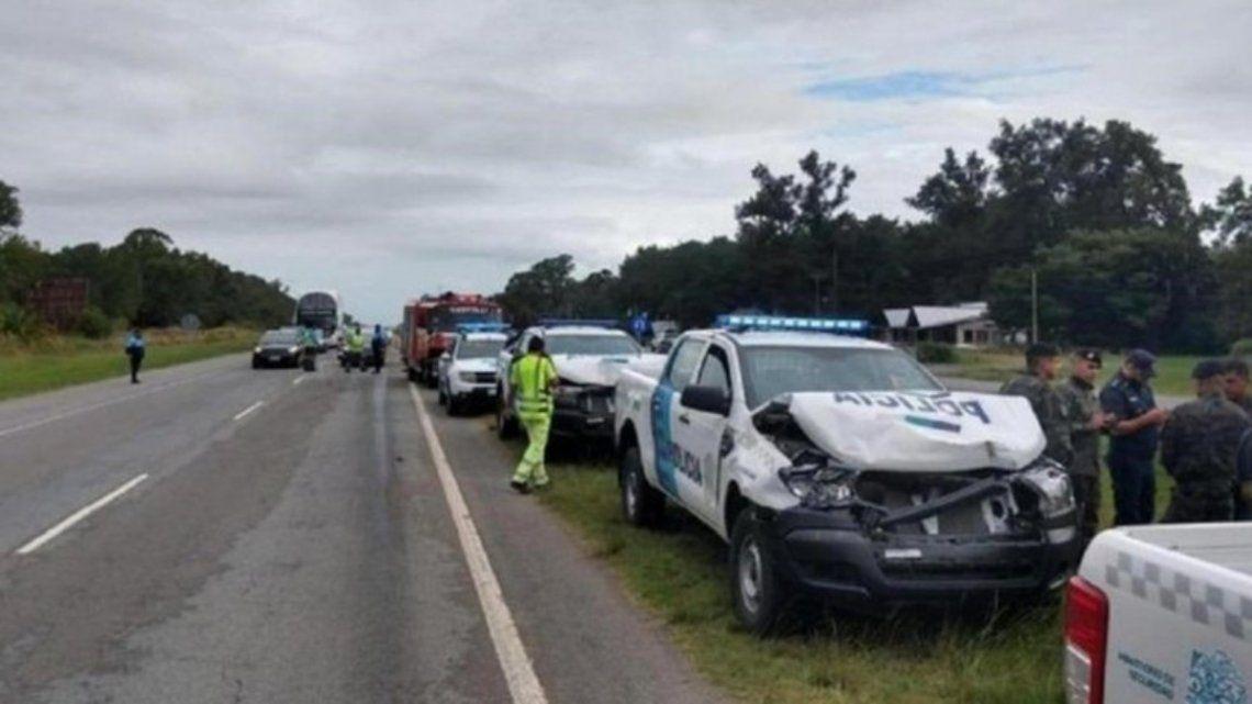 El accidente tuvo lugar sobre el kilómetro 183