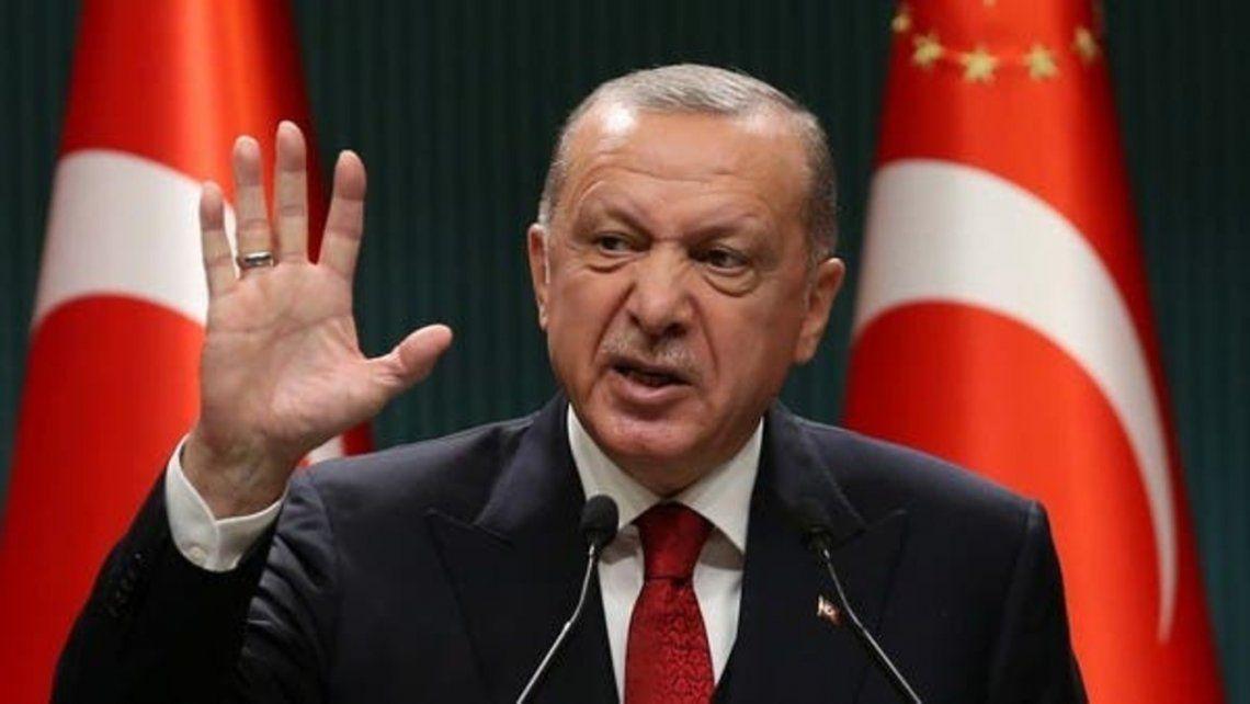 Ataque homofóbico del presidente de Turquía