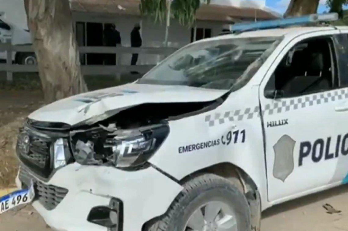 Tres Arroyos: patrullero atacado.