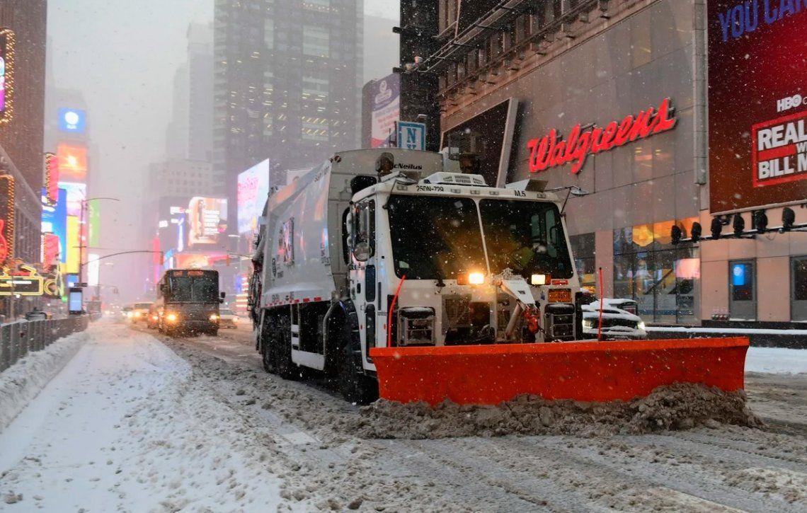 Las fotos de Nueva York cubierta de nieve