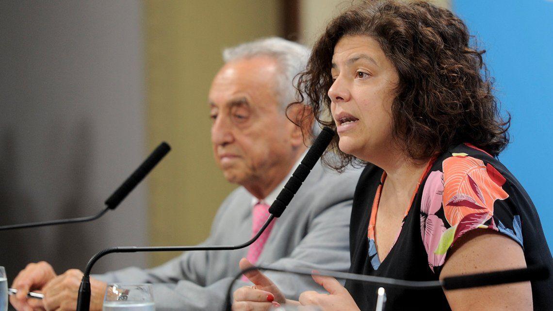 Carla Vizzotti aseguró que con los contratos ya firmados alcanza para cubrir entre 23 y 25 millones de personas.