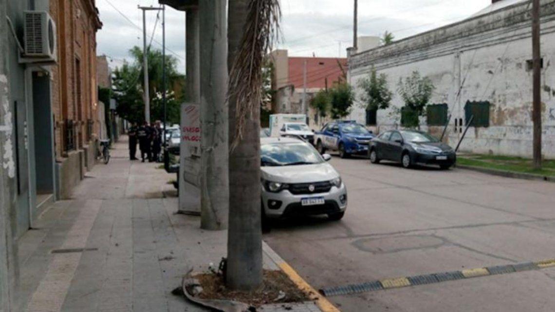 Por el crimen la Policía local detuvo a Luis Aldacco