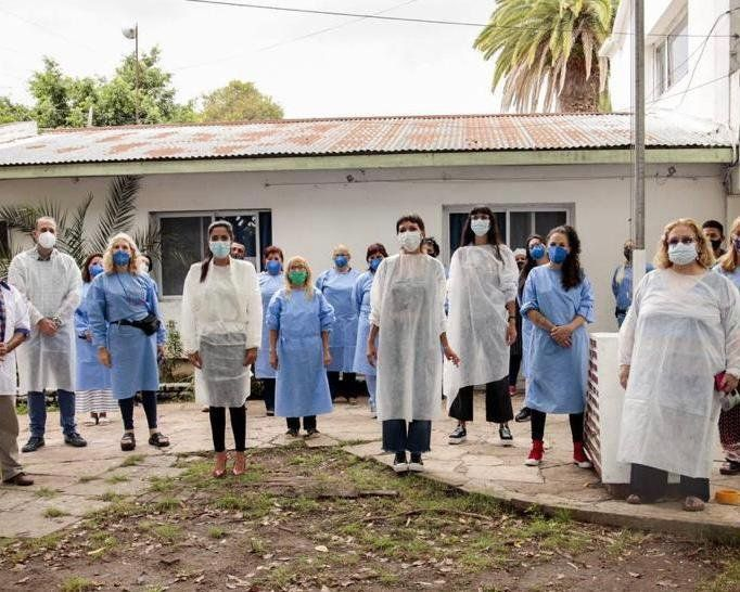 Comenzó la vacunación en residencias de larga estadía de Quilmes