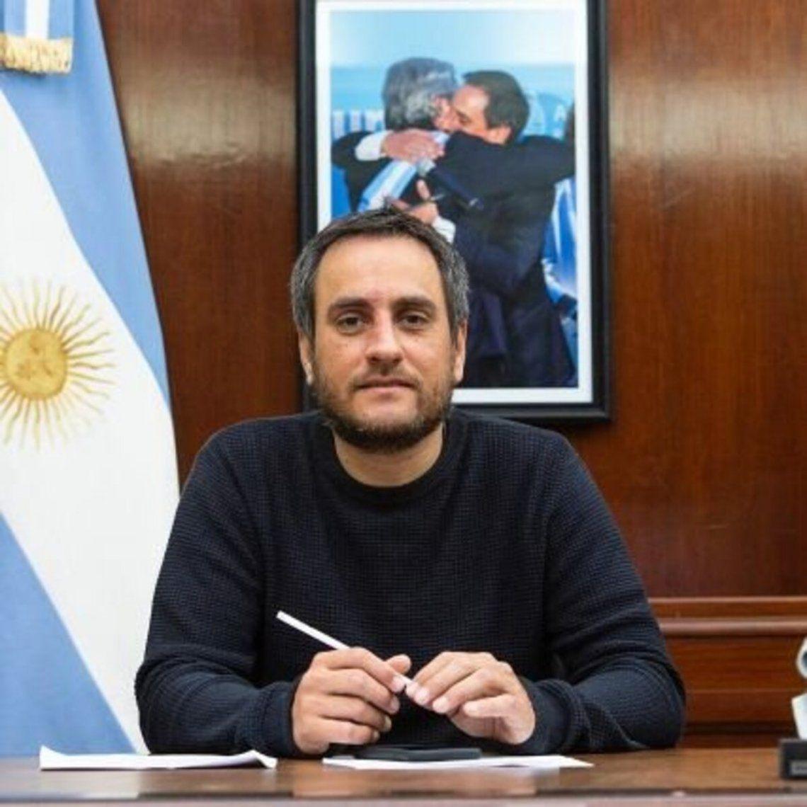 Juan Cabandié también cayó con coronavirus