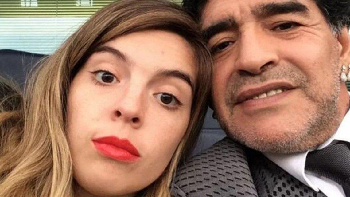 Dalma Maradona continúa enfrentándose con Morla