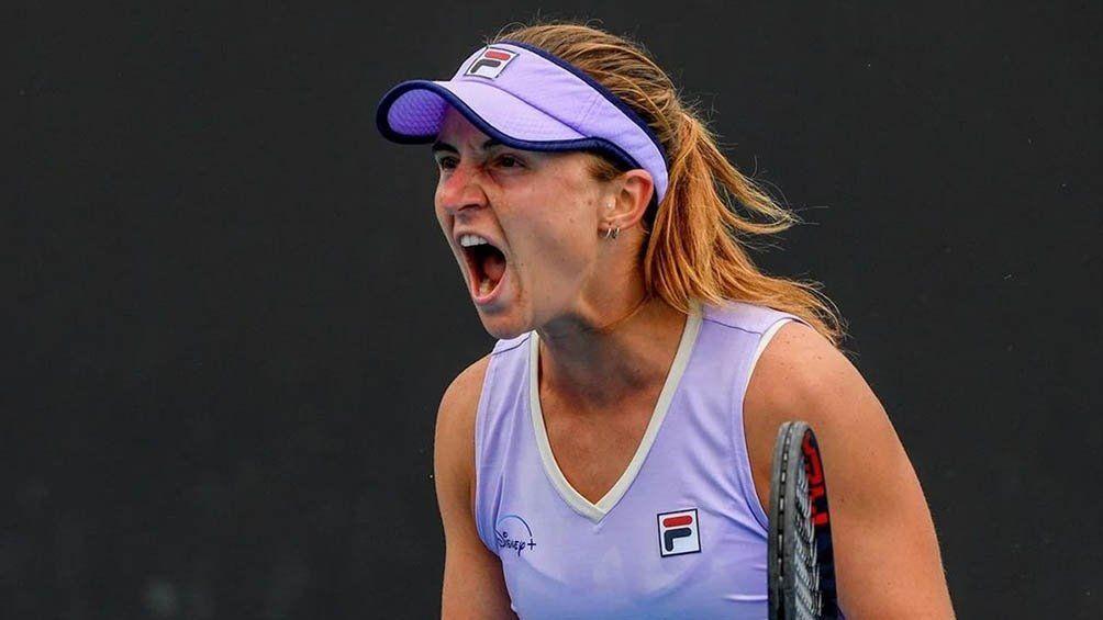 Nadia Podoroska logró una victoria importante en Melbourne