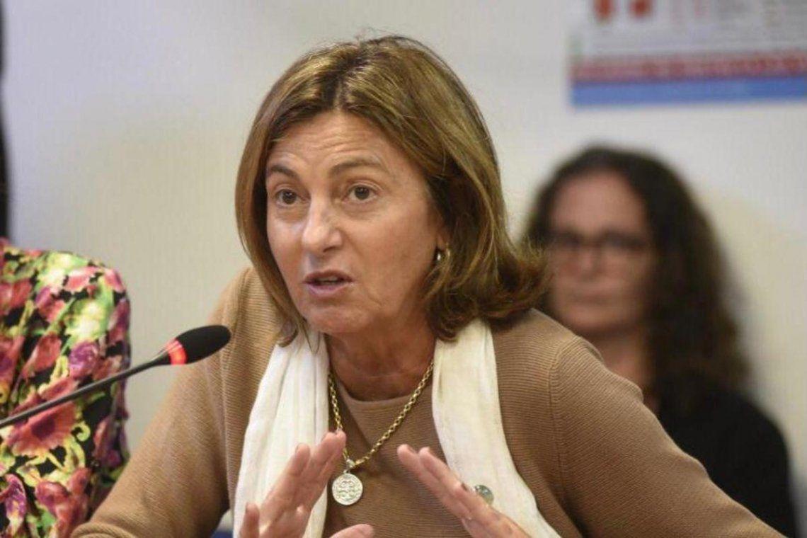 La diputada Alicia Fregonese abogó por la reapertura de las escuelas.