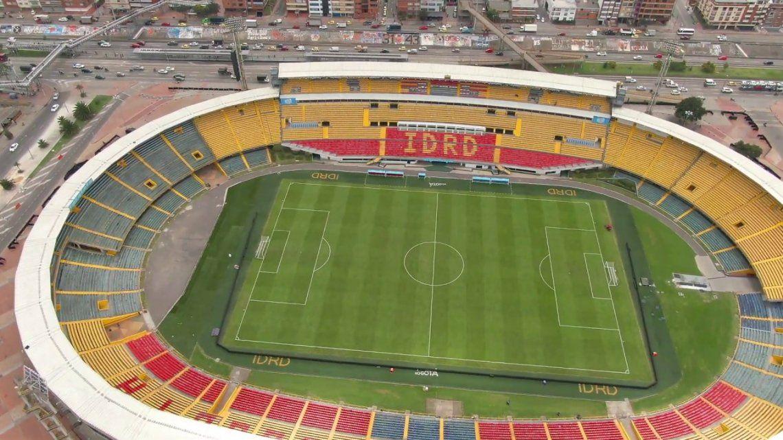 En Bogotá dicen que no habrá público en El Campín -foto- durante la Copa América