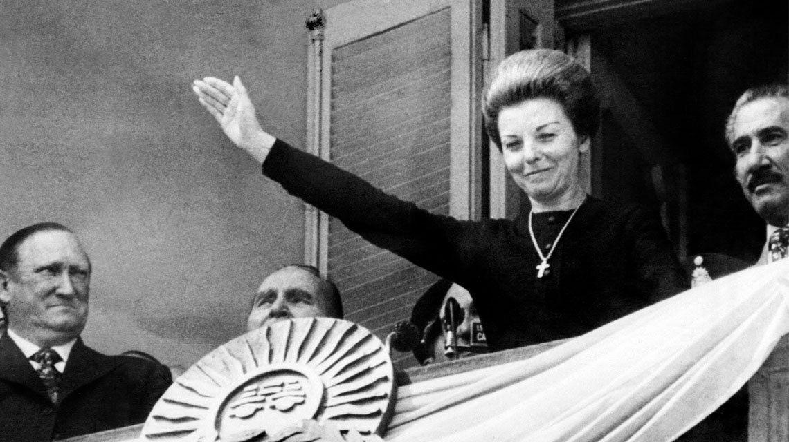 Isabel Perón: Cumple 90 años la expresidenta.