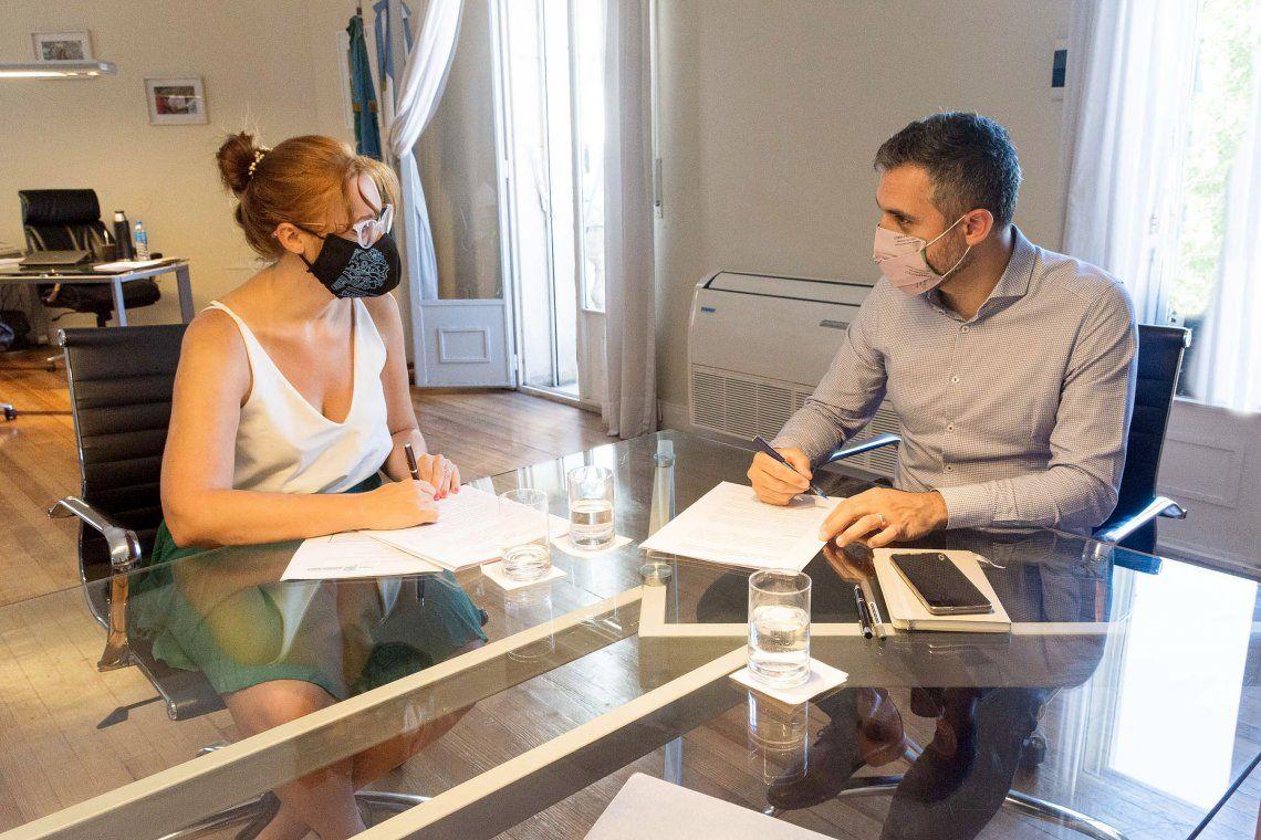 La ministra de Trabajo de la provincia de Buenos Aires