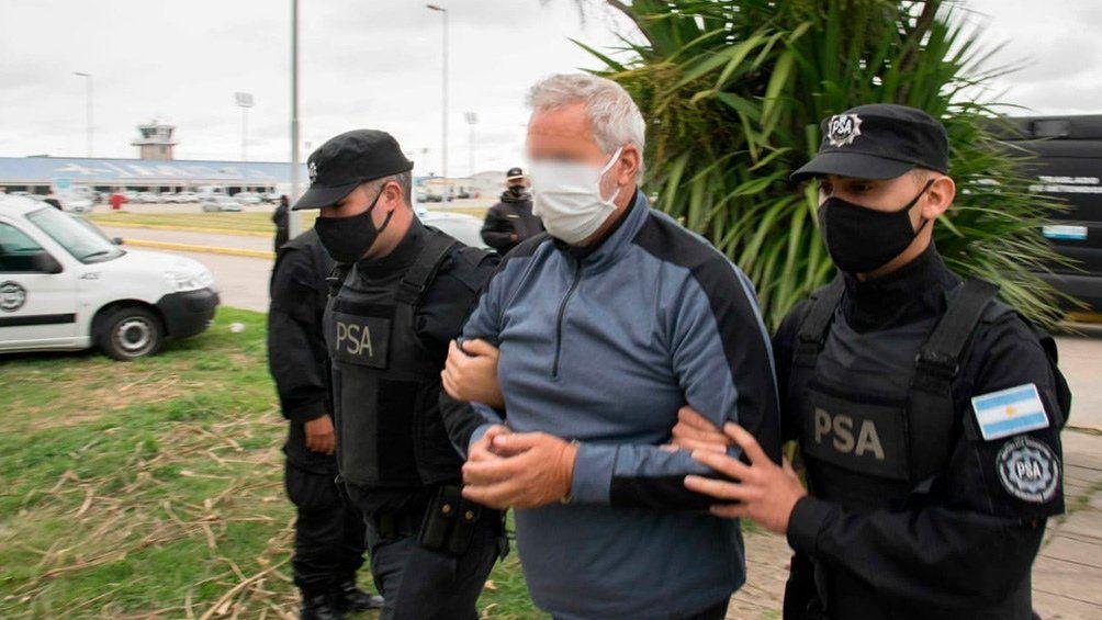 Carbón blanco: detenido en Mar del Plata.