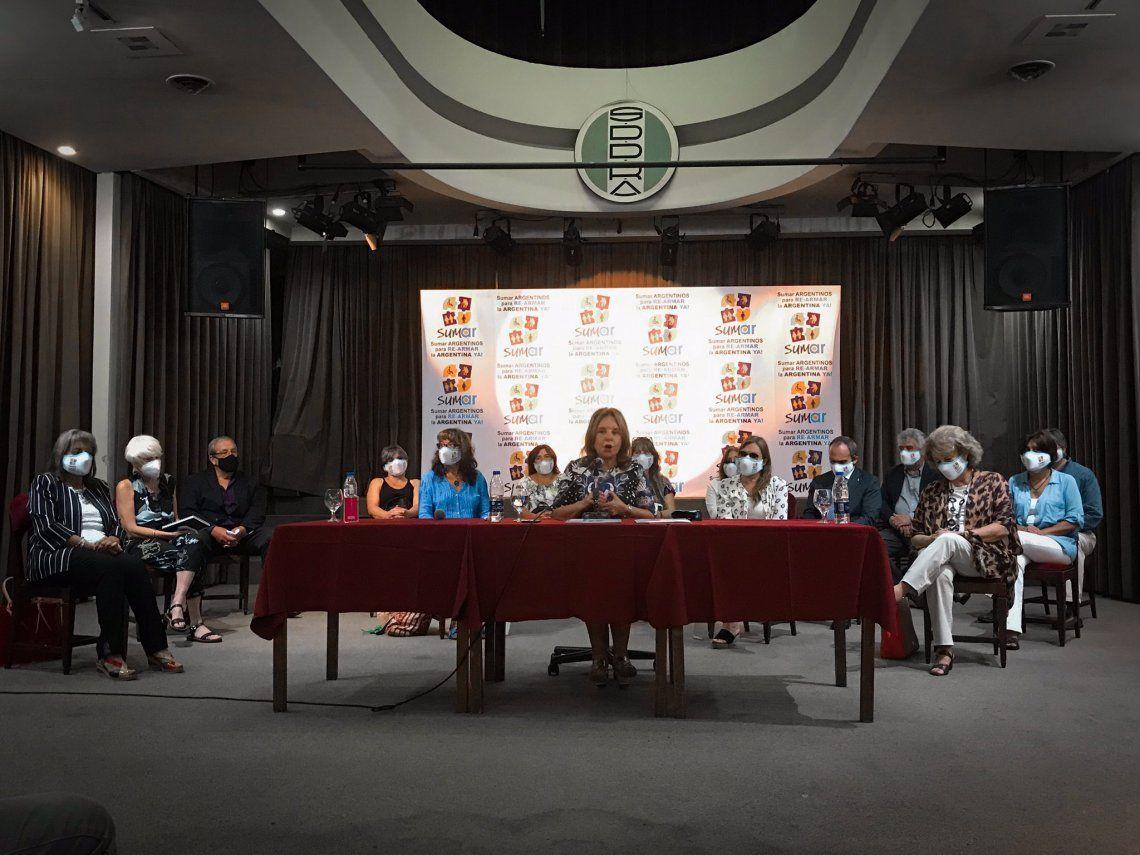 Chiche Duhalde lanzó hoy la Agrupación SUMAR