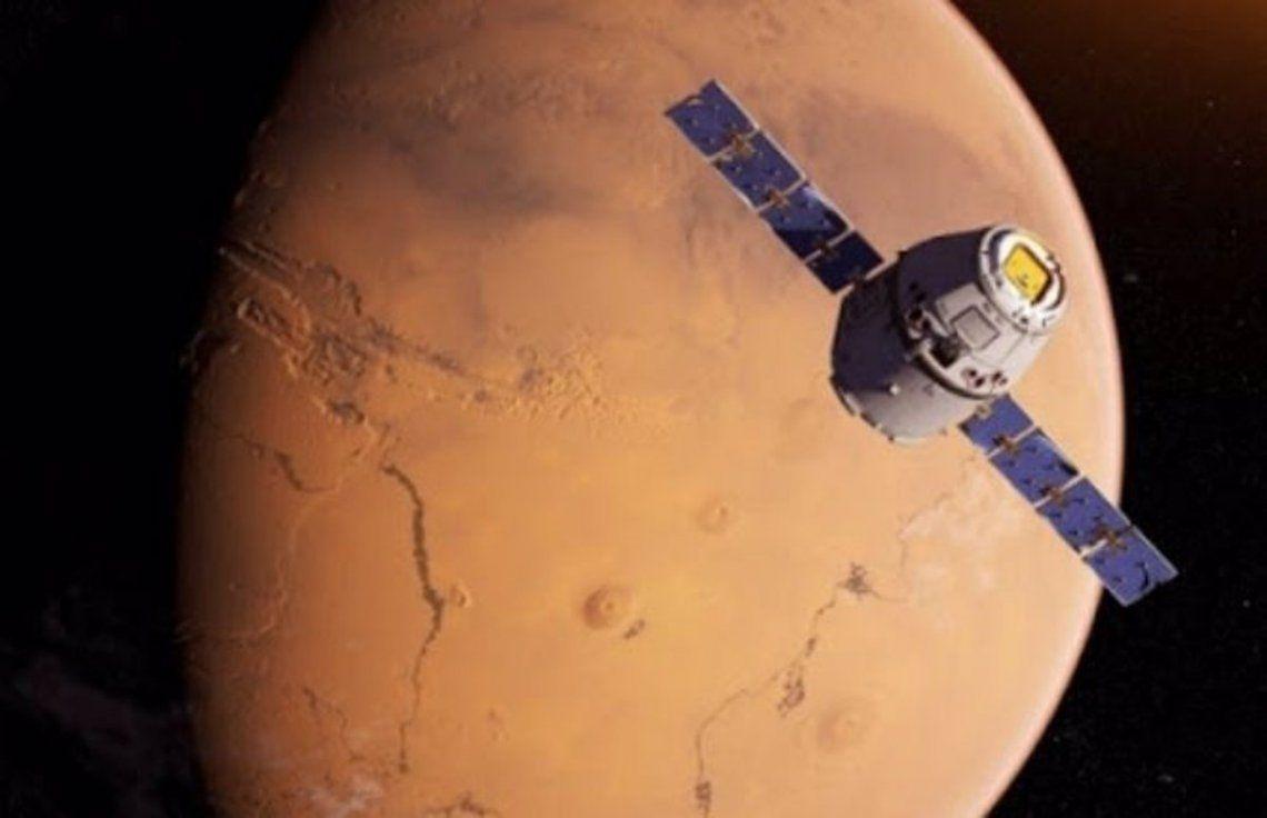 La sonda china está por entrar en la orbita de Marte