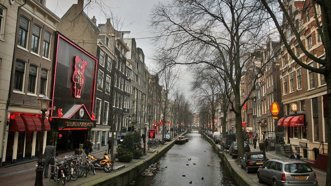 El Barrio Rojo de Ámsterdam.