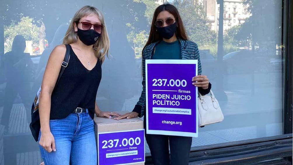 Karina Zucconi: juntas firmas para que vaya a juicio político.