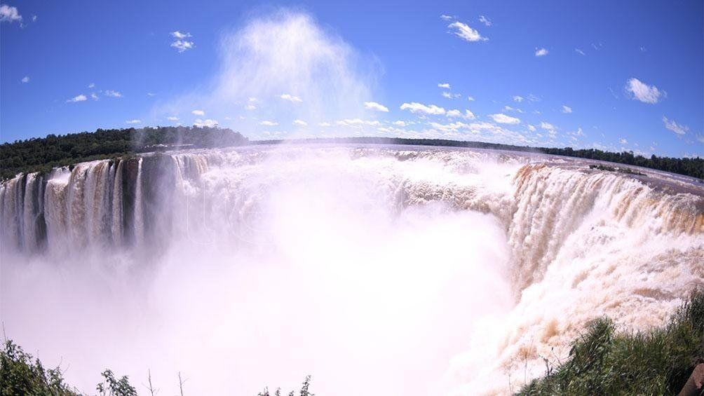 Creció el número de visitantes al Parque Nacional Iguazú
