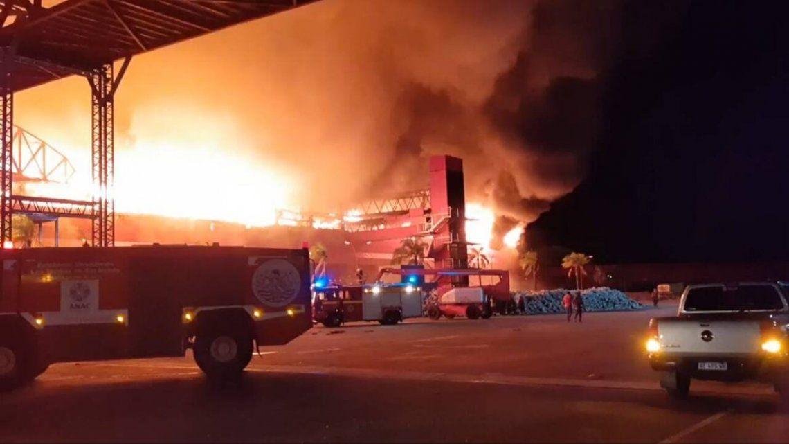 Termas de Rio Hondo: Incedio provocó graves daños en el Autódromo
