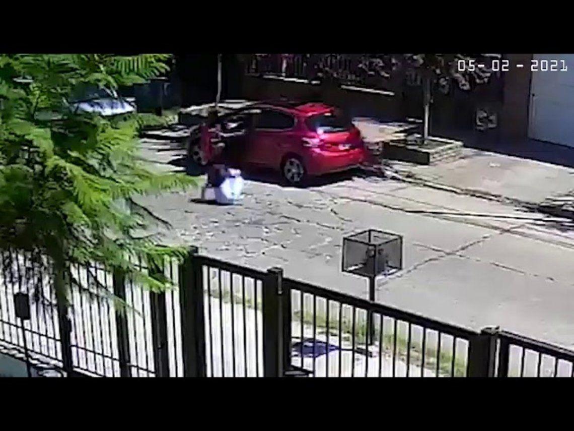 El Palomar: Violento robo a la madre de una diputada provincial