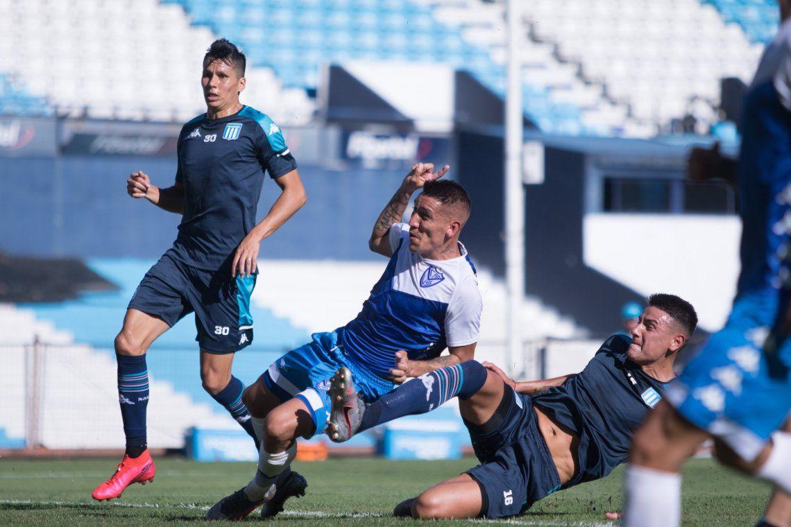 Ricardo Centurión marcó el tanto del triunfo de Vélez ante Racing