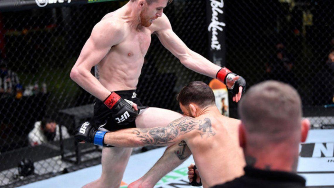 Cory Sandhagen candidato al nocaut del año en la UFC