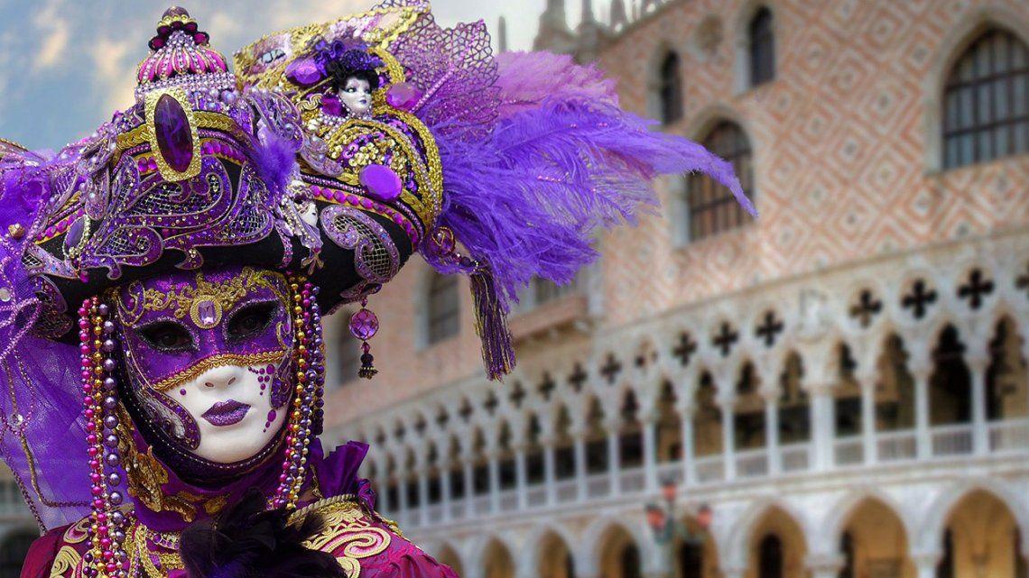 El Carnaval de Venezia sin turistas por la pandemia