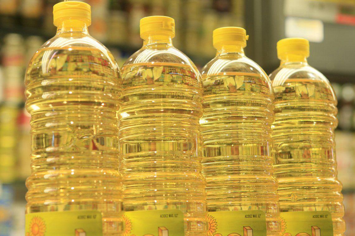 Aceite: acuerdo de compensación con la industria para el abastecimiento a precios accesibles.