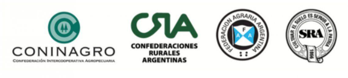 Las cuatro entidades agropecuarias fijaron su posición ante la posible suba de retenciones.