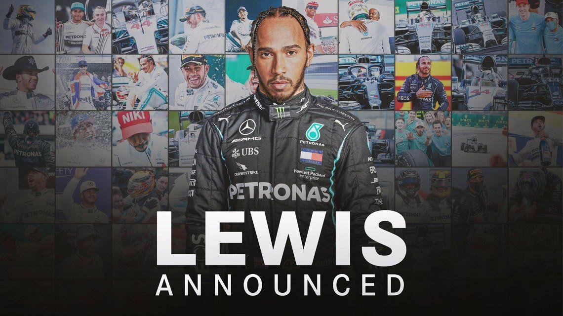 Lewis Hamilton renueva con Mercedes por una temporada más.