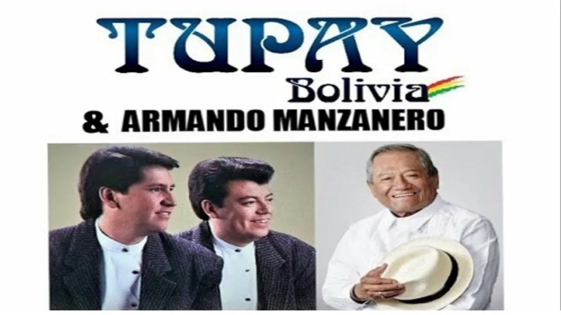 Lanzan una cánción inédita de Armando Manzanero y el Dúo Tupay